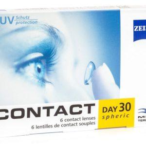 Zeiss Sphérique Contact Day 30 (Boite de 6 lentilles)