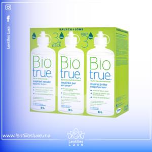 Biotrue pack de 3 flacon de 350ml (Livraison gratuite)